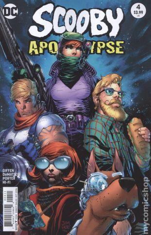Scooby Apocalypse #4A