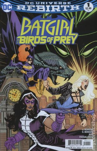 Birds of Prey #1A