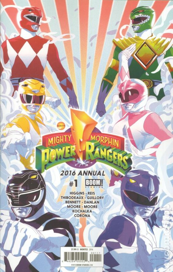Mighty Morphin Power Rangers Annual #1A