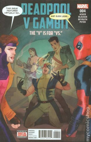 Deadpool Vs. Gambit #4A