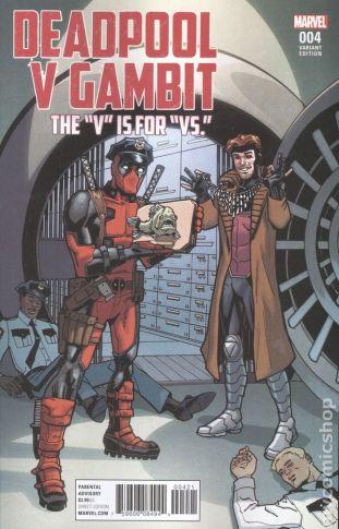 Deadpool Vs. Gambit #4B