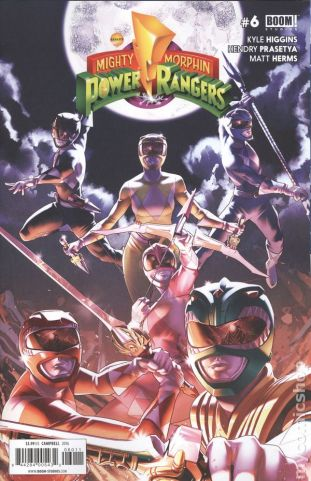 Mighty Morphin Power Rangers #6A