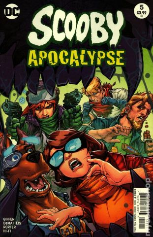 Scooby Apocalypse #5A
