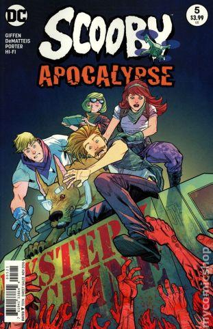 Scooby Apocalypse #5B