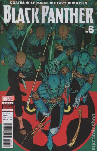 Black Panther #6A