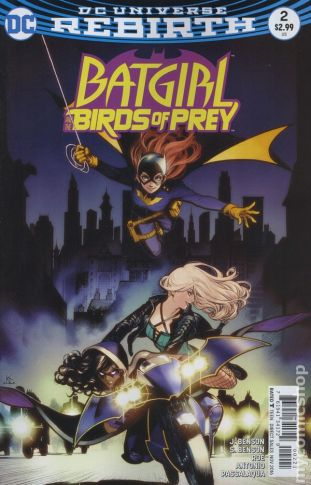 Batgirl & The Birds of Prey #2B