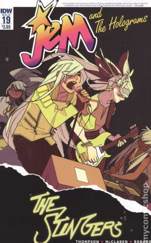 Jem and the Holograms #19A