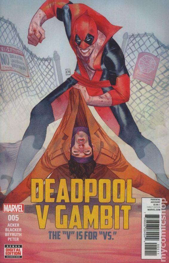 Deadpool v. Gambit #5A