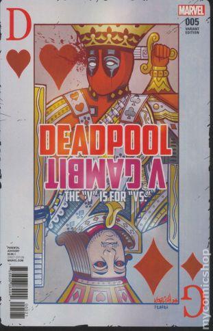 Deadpool v. Gambit #5B
