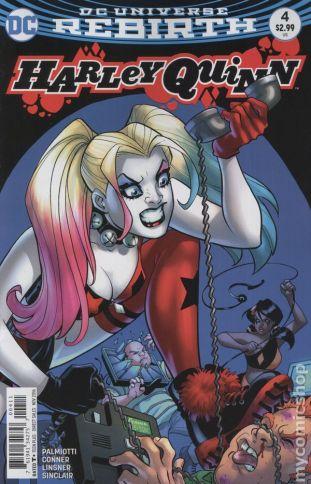 Harley Quinn #4A