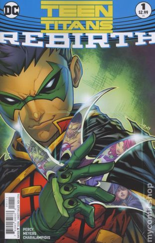 Teen Titans: REBIRTH #1A