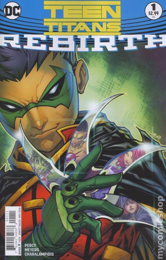 Teen Titans: REBIRTH #1A