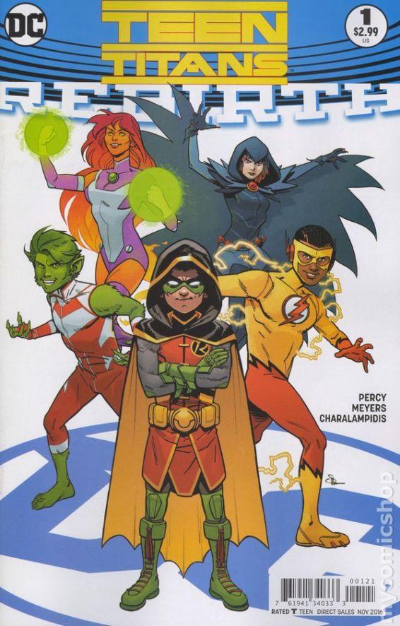 Teen Titans: REBIRTH #1B