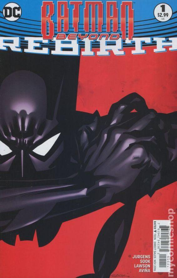 Batman Beyond: REBIRTH #1A