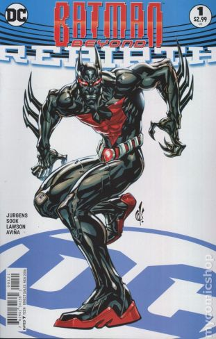 Batman Beyond: REBIRTH #1B