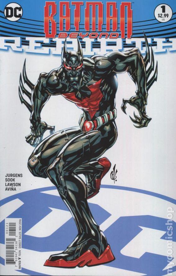 Batman Beyond: REBIRTH #1B