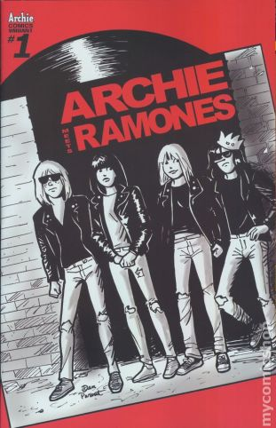 Archie Meets the Ramones #1B