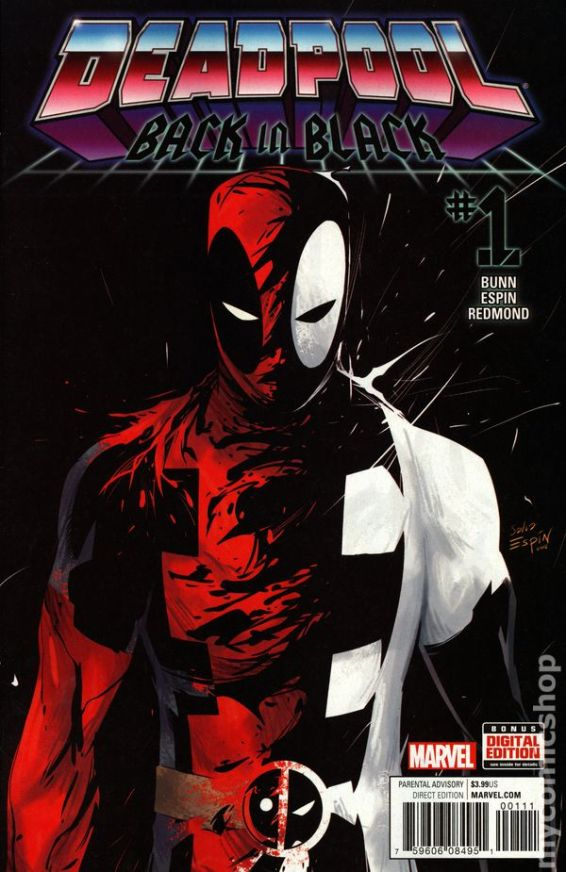 Deadpool Black #1A