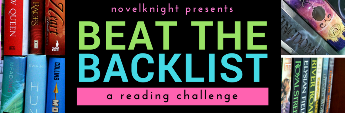 Beat the Backlist Reading Challenge