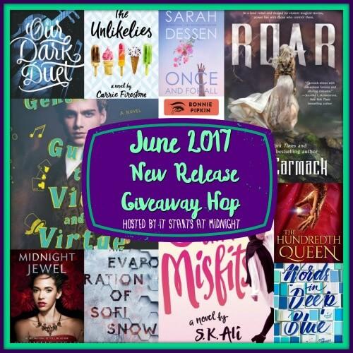 June 2017 New Release Giveaway Hop