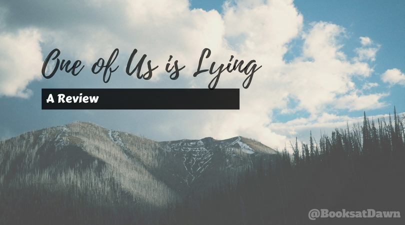 One of Us is Lying by Karen M. McManus|REVIEW