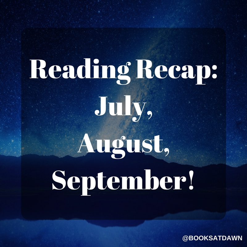 Reading Recap- July, August, September! (1)