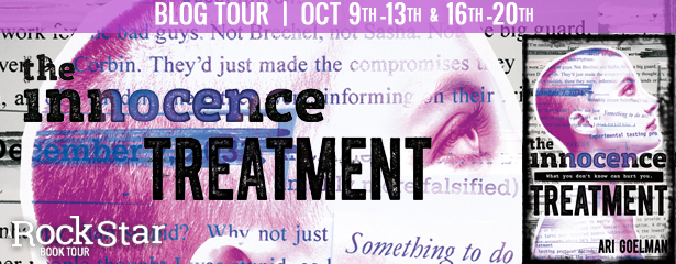 The Innocence Treatment Blog Tour Banner