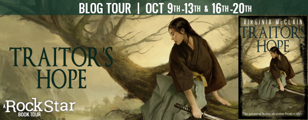 Traitor's Hope Blog Tour Banner