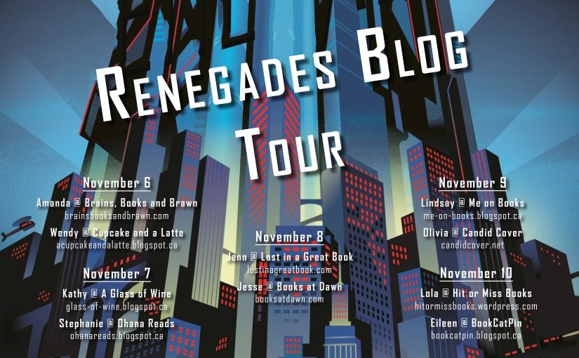 BLOG TOUR: Renegades by Marissa Meyer (Excerpt +GIVEAWAY)