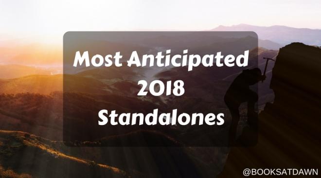 Most Anticipated 2018 Standalones