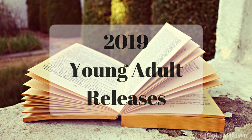 2019 Young Adult Releases!