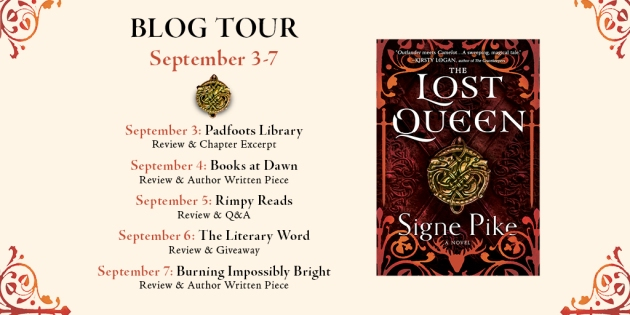 Lost Queen blog tour