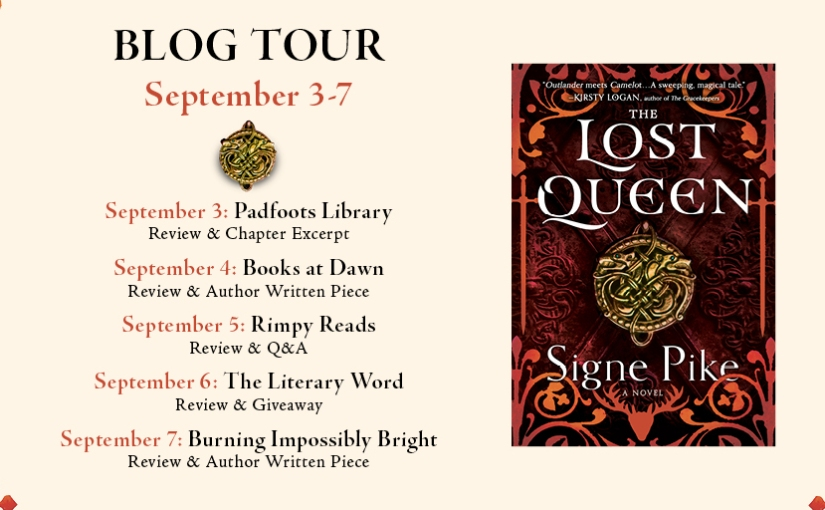 #BlogTour: THE LOST QUEEN by Signe Pike (Review + AuthorPost)