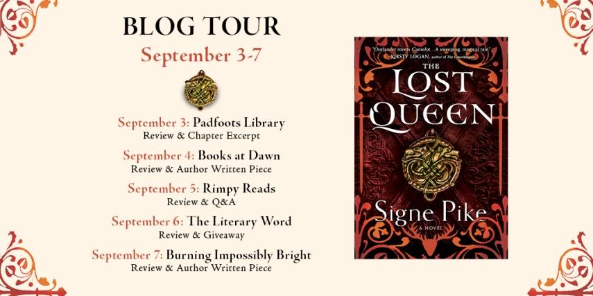 Lost Queen blog tour